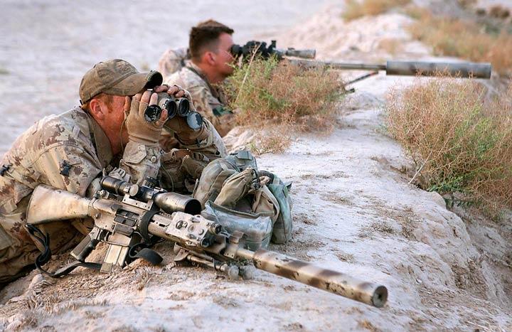armas rifes tirador designado Francotirador y observador