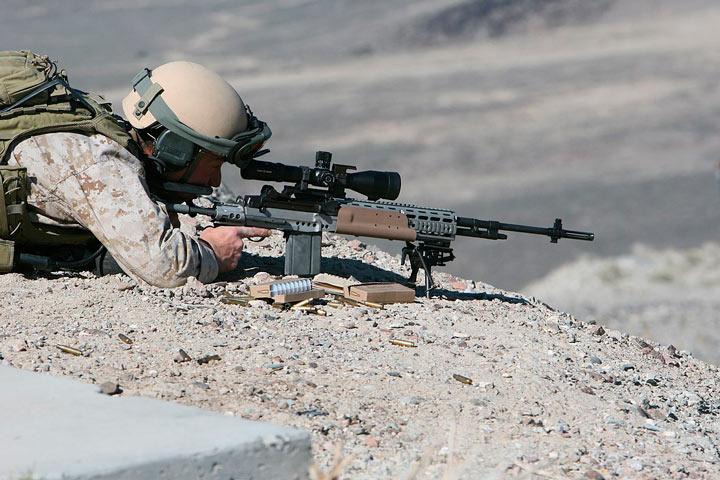 armas rifles tirador wwii Rifle M39 EMR