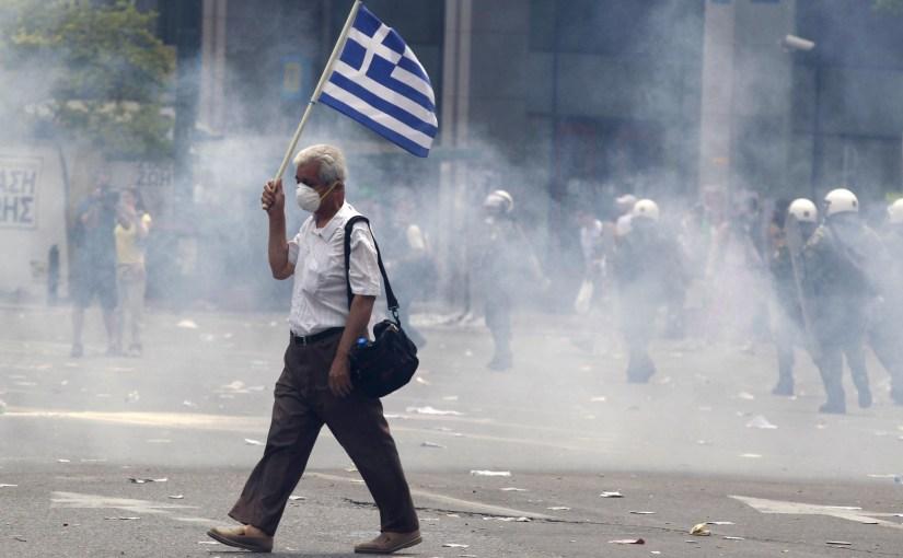 Dove comincia la Grecia? Dire NO significa organizzare la RESISTENZA o non significa nulla