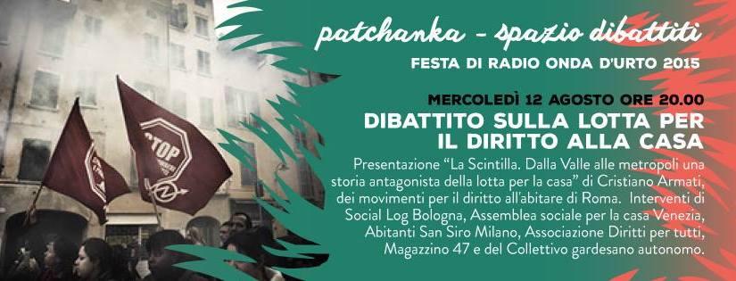 Brescia: La Scintilla alla Festa di Radio Onda d'Urto