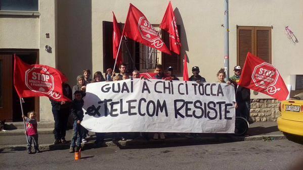 Ex Telecom Bologna: resistere si può, vincere bisogna