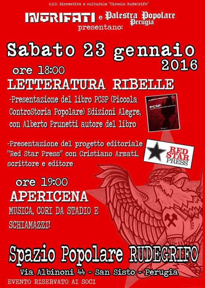 Red Star Press a Perugia