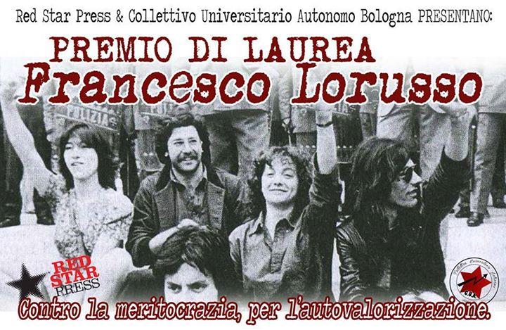 """Premio di laurea """"Francesco Lorusso"""" – prima edizione"""