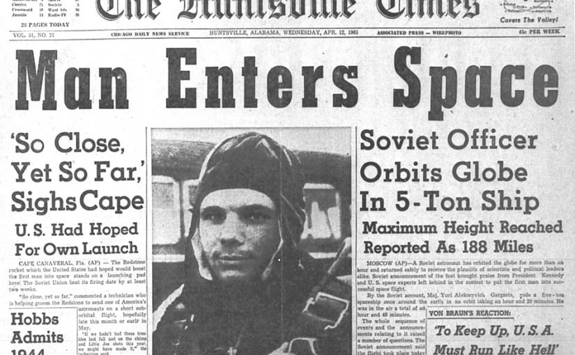 Gagarin: primo nello spazio nel centenario della Rivoluzione