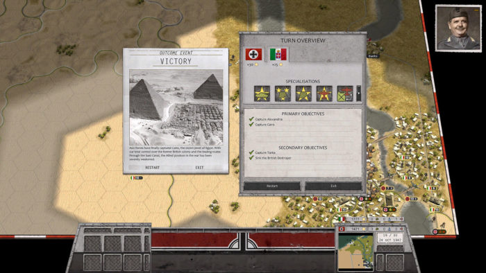 Victory in Egypt