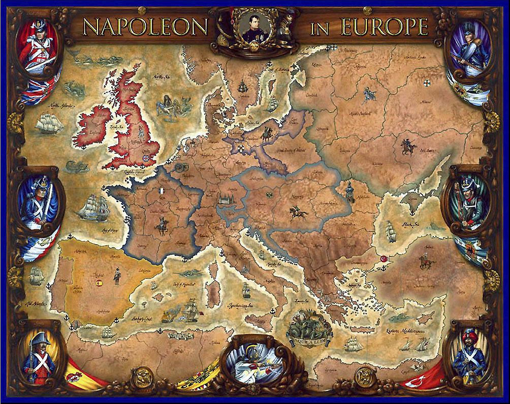 Classic Reviews Napoleon In Europe Eagle Games