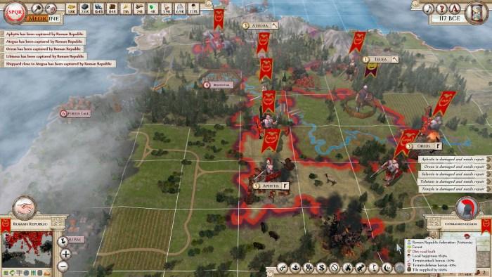 8 Roman Legion Blitz