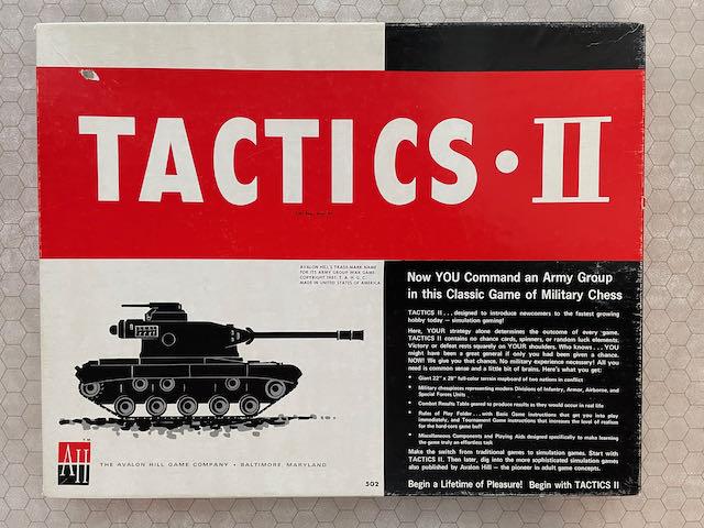 #TBT – A Grognard Looks Back at TACTICS II After 40 Years a Wargamer