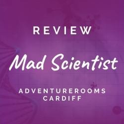 The Mad Scientist: AdventureRooms Cardiff [REVIEW]
