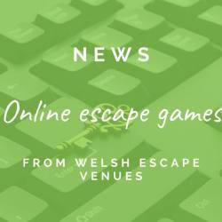 Online puzzle experiences from Welsh escape room venues