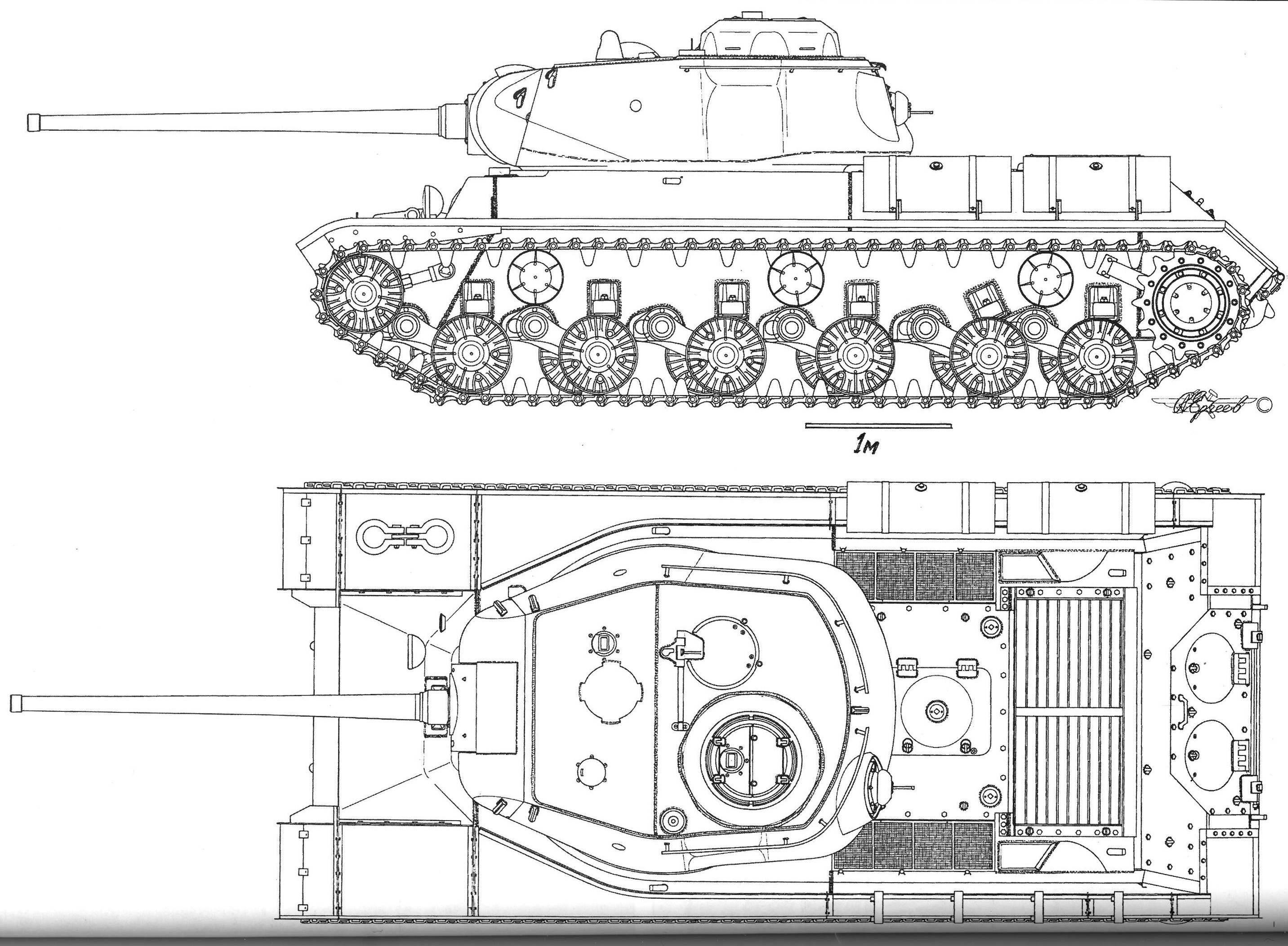 M1a1 Tank Diagram