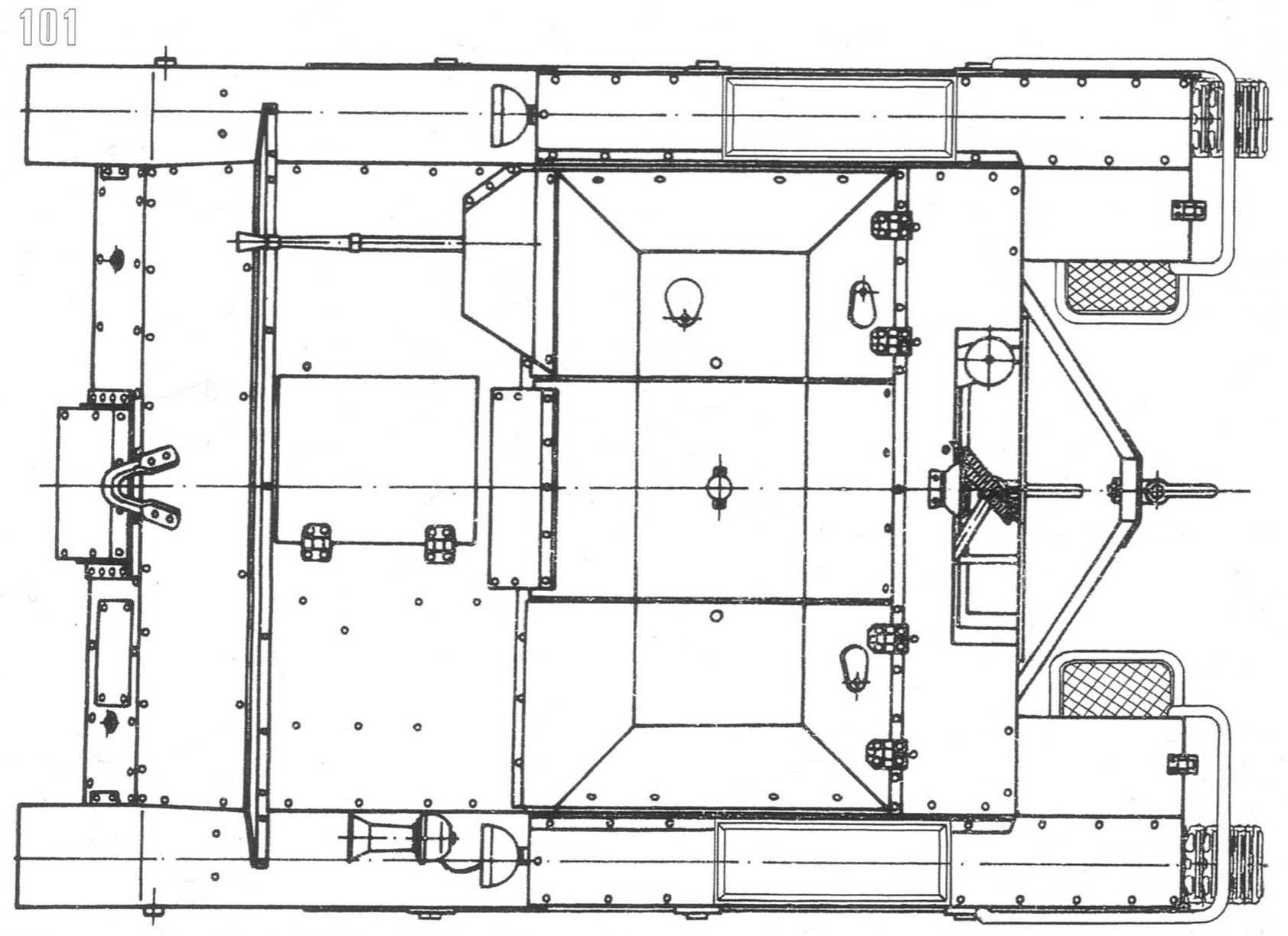 T 27 Tankette Blueprints