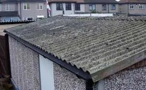 cost to remove asbestos - asbestos garage roof