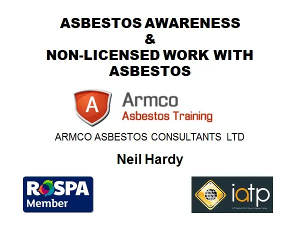 asbestos training North West