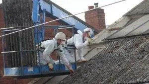 Training for asbestos removal
