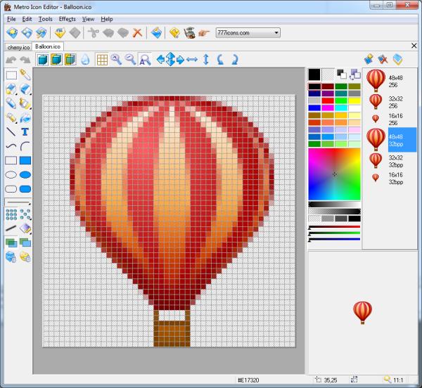 Metro Icon Editor for Windows