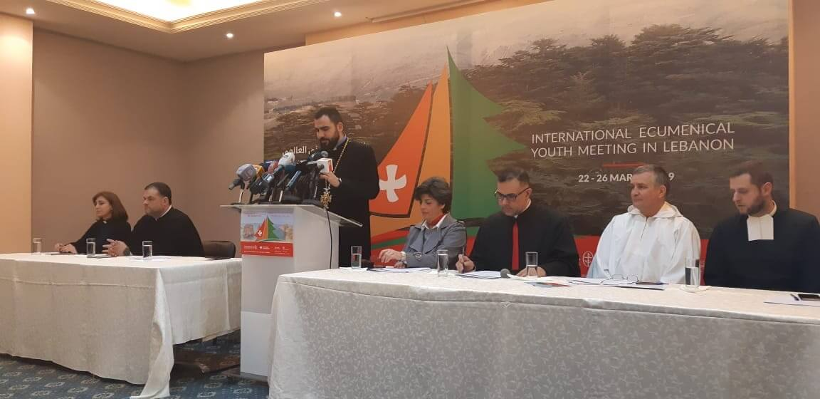 A PRESS CONFERENCE FOR THE INTERNATIONAL ECUMENICAL YOUTH