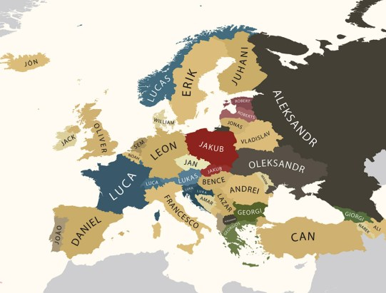 europe-most-popular-male-names