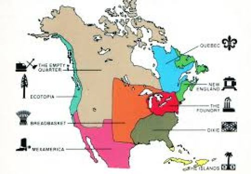 Map Monday Alternate Maps Of The Us North America