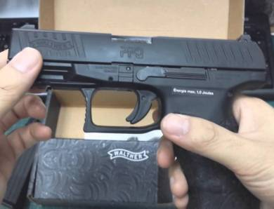 Pistola softair Walther PPQ M2 Gas, cal. 6 mm