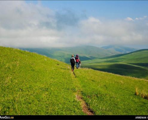 Mountain Karktasar - Areguni mountains