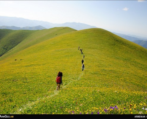 Mount Djarsar - Armenian highlands