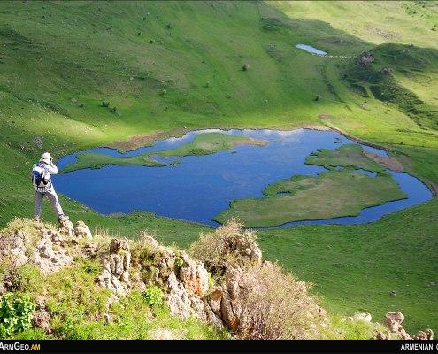 Lakes of Armenia - Lake Artavan