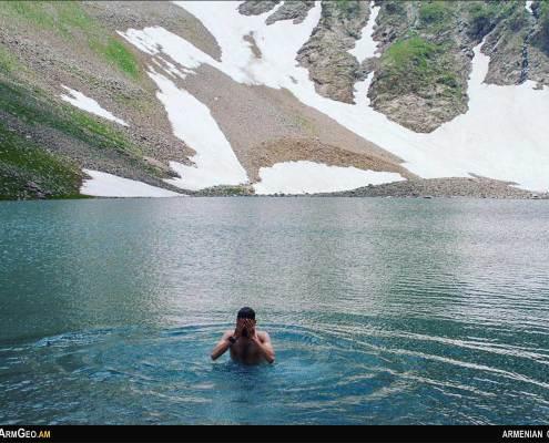 Tsaghkari lake - Tsakqar - Syunik - Armenian Geographic