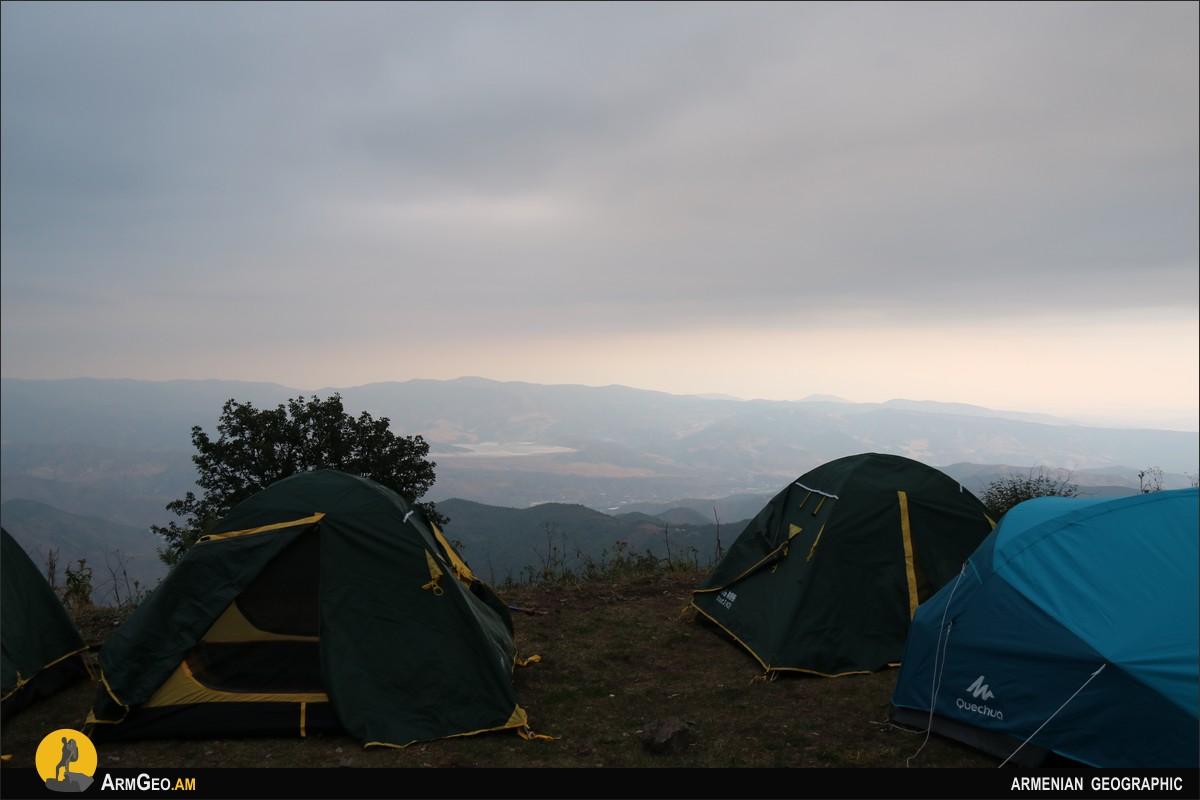 Ночёвка в палатке