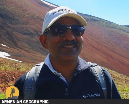 Indian Ambassador in Armenia