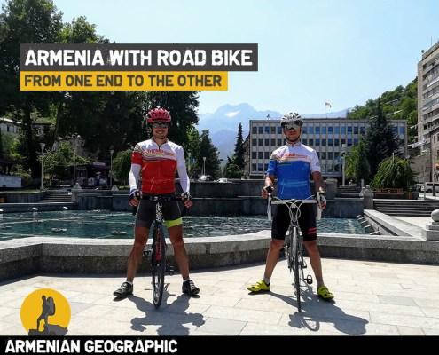 Armenia with a roadbike