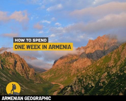 One week in Armenia