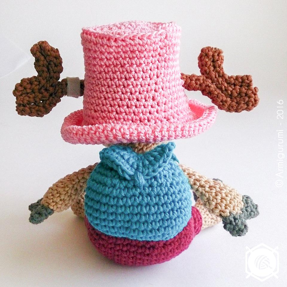 One piece's Chopper - amigurumi crochet pattern by Armigurumi