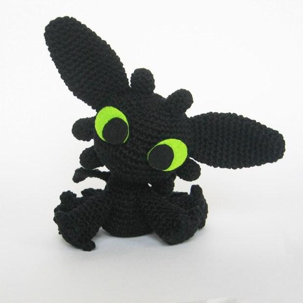 Toothless - amigurumi free crochet pattern by Sarselgurumi