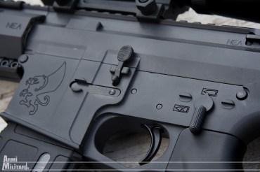 """NEA-15 12"""" - dettaglio sinistro"""