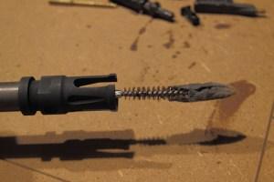 Lo stesso prodotto usato anche per pulire l'interno della canna tramite pezza scovolo.