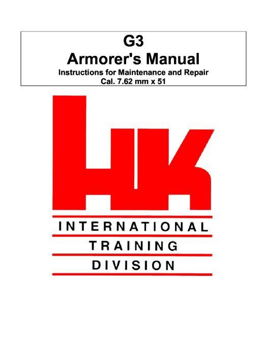 Heckler & Koch G3 Armorer Manual
