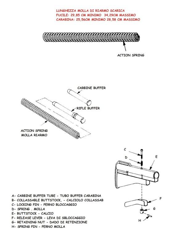 AR-15 M4 Spare Parts List - 16