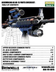 AR15 Assembly Checklist