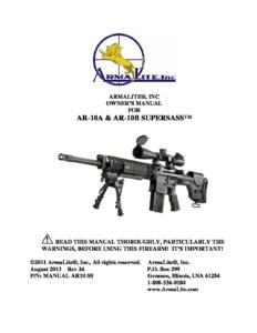 Armalite AR10 SSASS