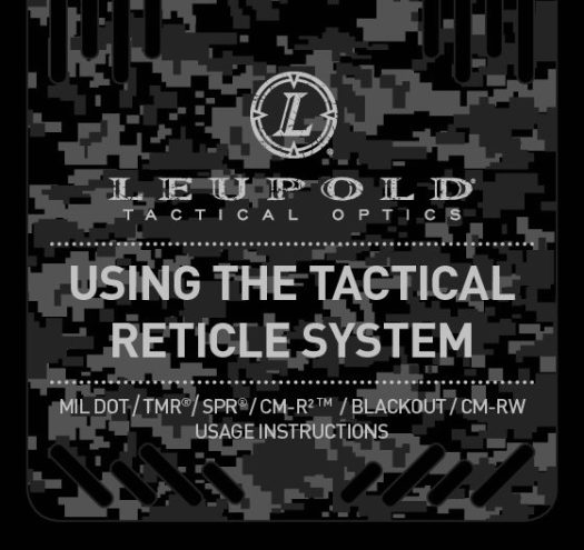 Leupold Tactical Milling Reticle