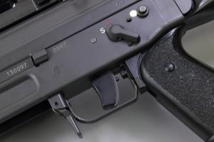 il grilletto del 550 sniper