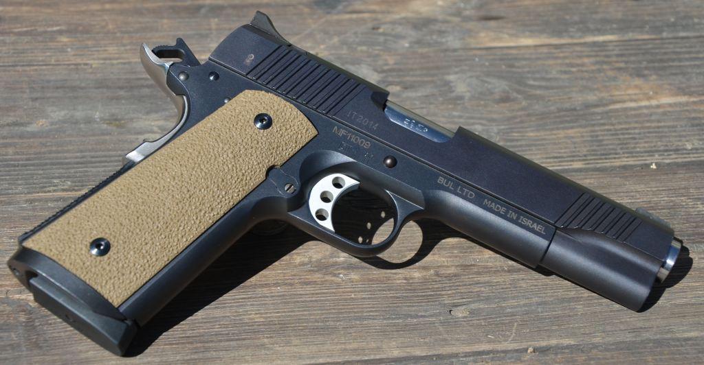 BUL - L'arma vista dal lato destro