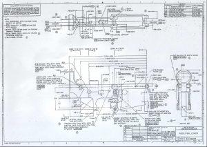 Il Blue Print del lower receiver dell'M16A1