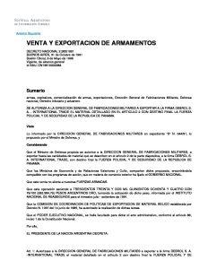 Decreto Nacional 2.283/1991
