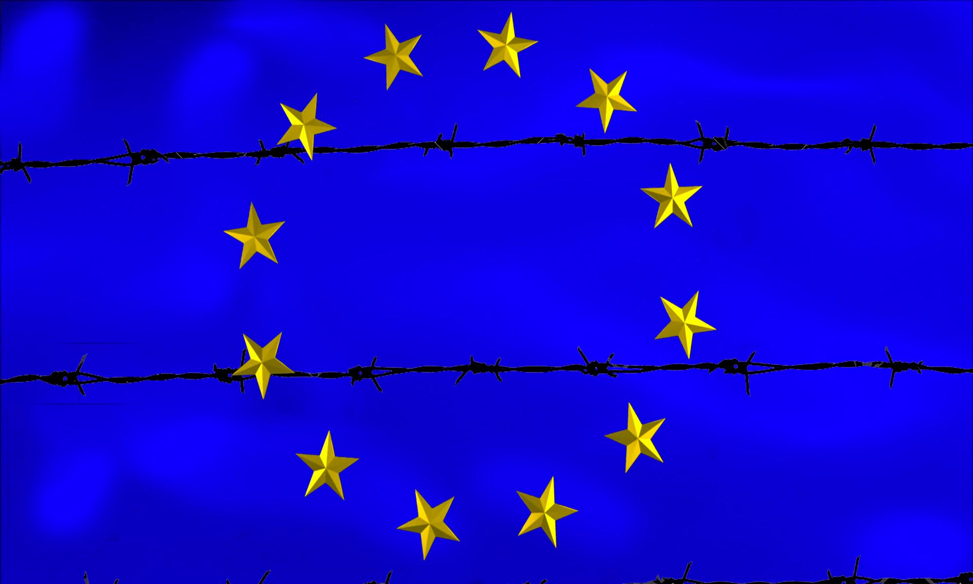 Bandiera UE FiloSpinato