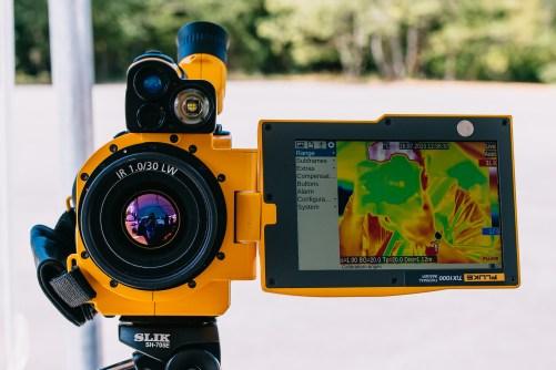 Infrared Camera selfie