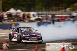 Victor Moore going sideways at NissanFest