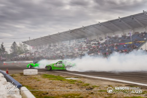 Cameron Moore giving chase at NissanFest