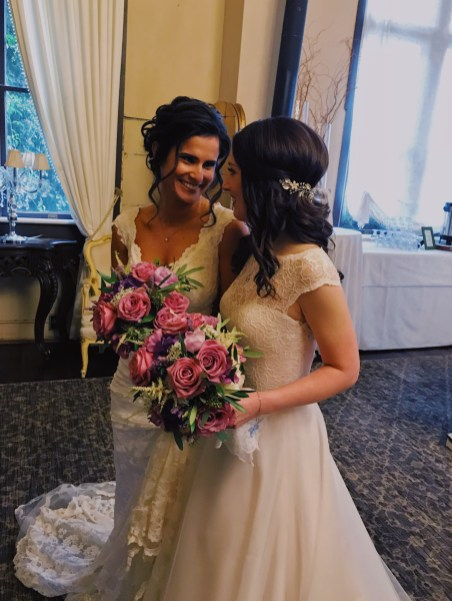 Sidnee and Mia Newlyweds